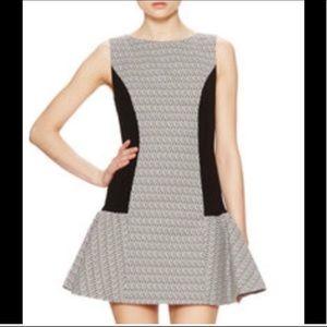 Alice + Olivia Diamond Flare Dress